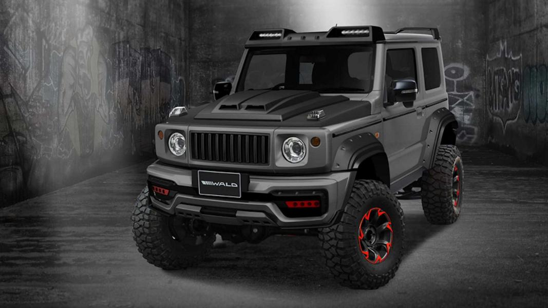 Wald International Black Bison 2019 Suzuki Jimny Tuning 1 Vorschau: Wald International Black Bison 2019 Suzuki Jimny