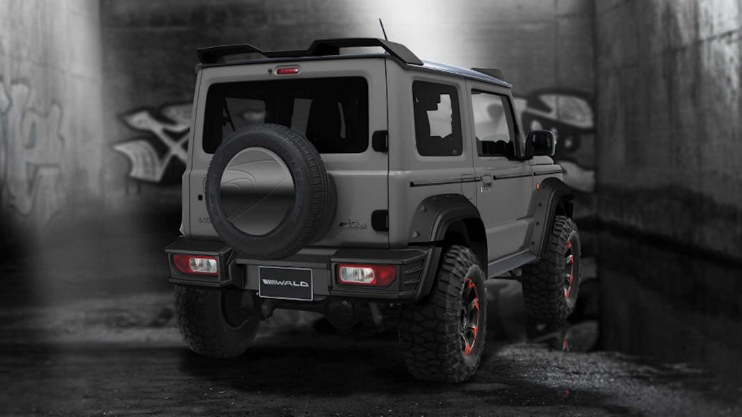 Wald International Black Bison 2019 Suzuki Jimny Tuning 2 Vorschau: Wald International Black Bison 2019 Suzuki Jimny