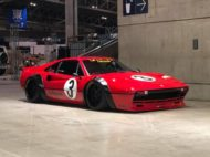 Widebody Ferrari 308 GTB Liberty Walk Tuning 2019 2 190x142 Tokyo Auto Salon: Widebody Ferrari 308 GTB by Liberty Walk