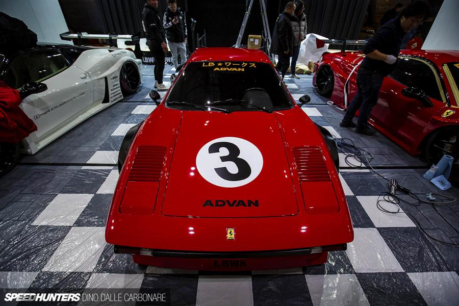Widebody Ferrari 308 GTB Liberty Walk Tuning 2019 9 Tokyo Auto Salon: Widebody Ferrari 308 GTB by Liberty Walk
