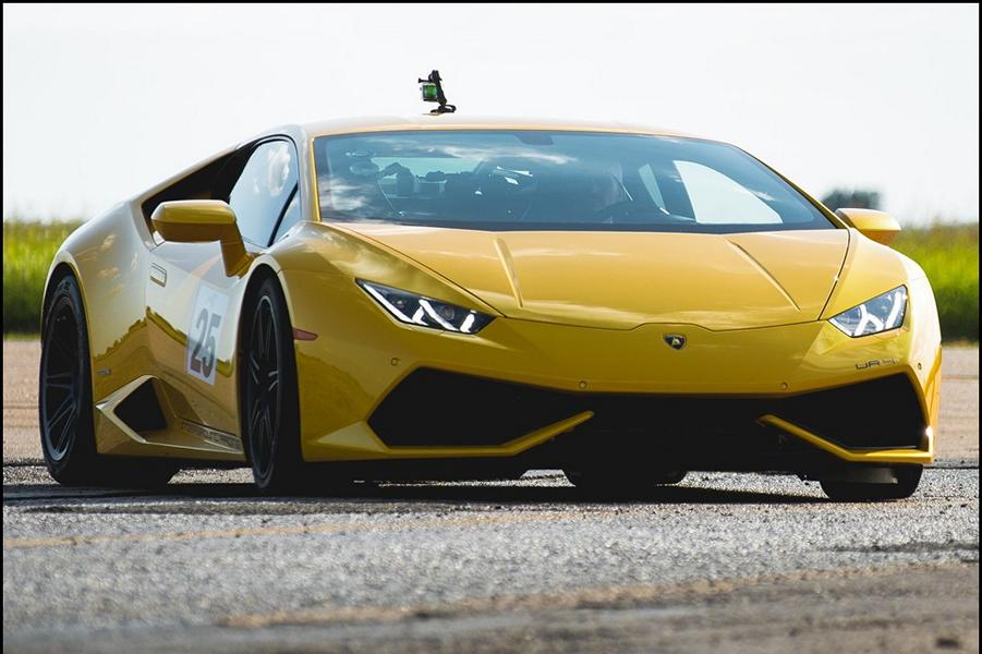 With 3 500 PS in the UR Lamborghini Huracan a world record