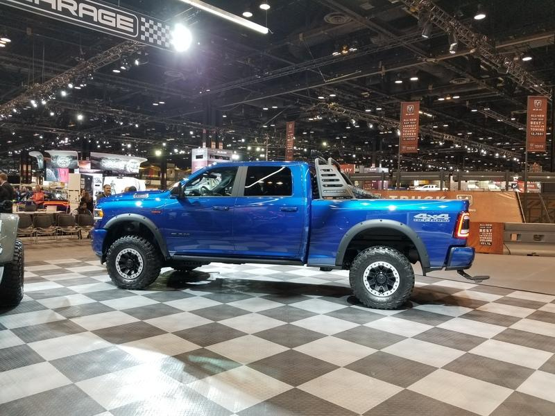 2019 Mopar Widebody Dodge Ram 2500 Pickup Tuning 11 2019 Mopar Widebody Dodge Ram Heavy Duty 2500 Pickup