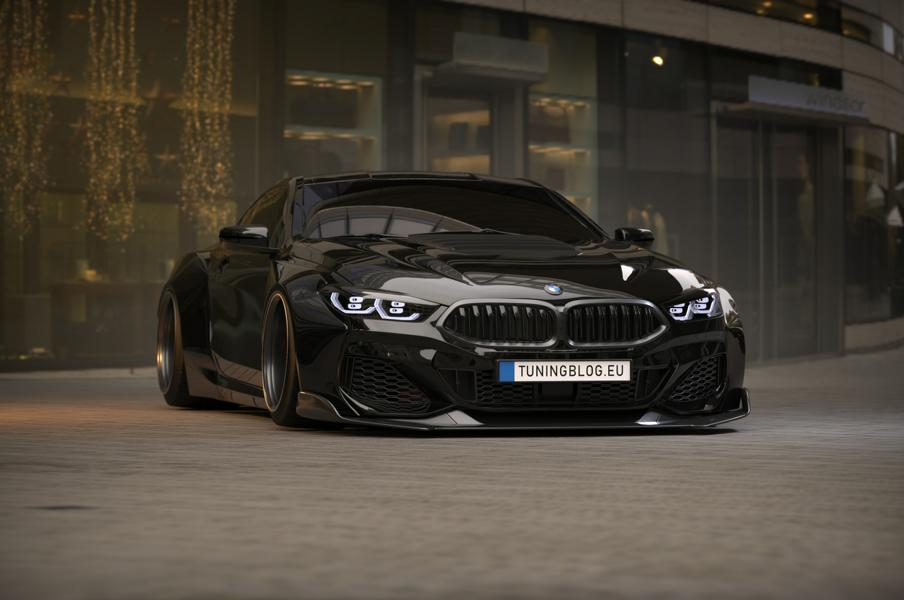 2019 Widebody BMW M8 G15 competition tuningblog 8 2019 Widebody BMW M8 (G15) mit 900 PS by tuningblog