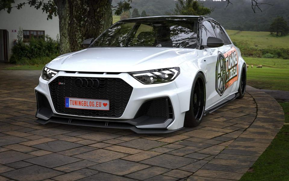 450 PS AUDI RS1 A1 GB quattro Widebody Tuning 2019 3 1 Wir träumen: +450 PS AUDI RS1 (A1 GB) quattro Widebody