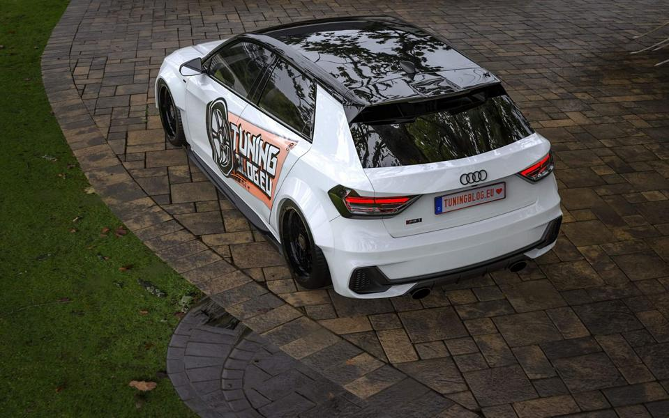 450 PS AUDI RS1 A1 GB quattro Widebody Tuning 2019 4 1 Wir träumen: +450 PS AUDI RS1 (A1 GB) quattro Widebody