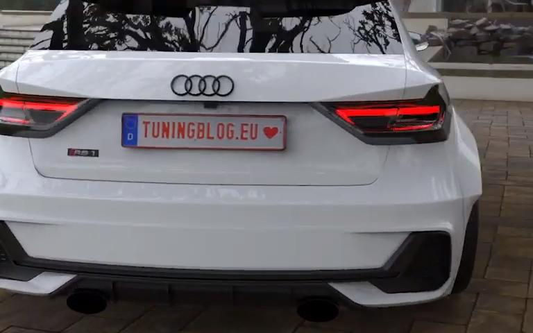 450 PS AUDI RS1 A1 GB quattro Widebody Tuning 2019 4 Wir träumen: +450 PS AUDI RS1 (A1 GB) quattro Widebody
