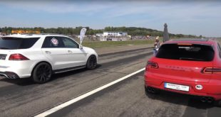 800 PS Mercedes ML63 AMG vs. Macan C63 Co. 310x165 Video: 800 PS Mercedes ML63 AMG vs. Macan, C63 & Co.