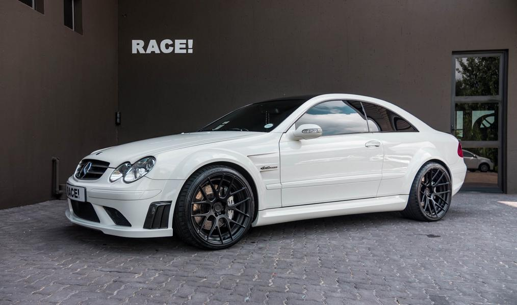 ADV.1 Wheels Mercedes CLK63 AMG Black Series Tuning 1 Perfekt: ADV.1 Wheels am Mercedes CLK63 Black Series