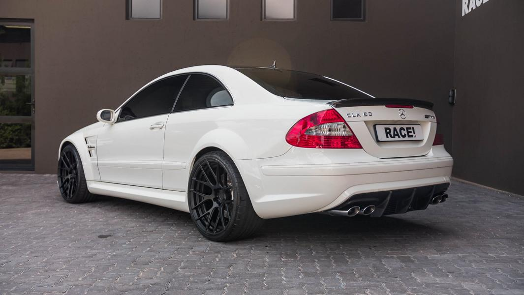 ADV.1 Wheels Mercedes CLK63 AMG Black Series Tuning 3 Perfekt: ADV.1 Wheels am Mercedes CLK63 Black Series