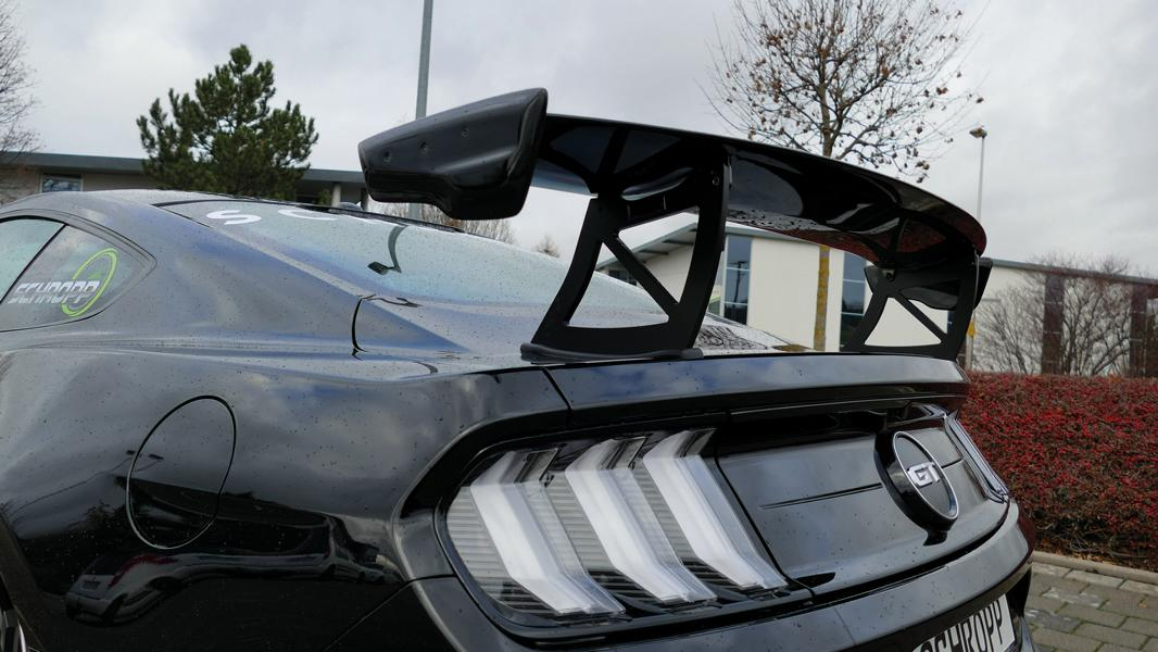 Airride Schropp Ford Mustang Facelift LAE Tuning 2019 12 500 PS & Airride im Schropp Ford Mustang Facelift (LAE)