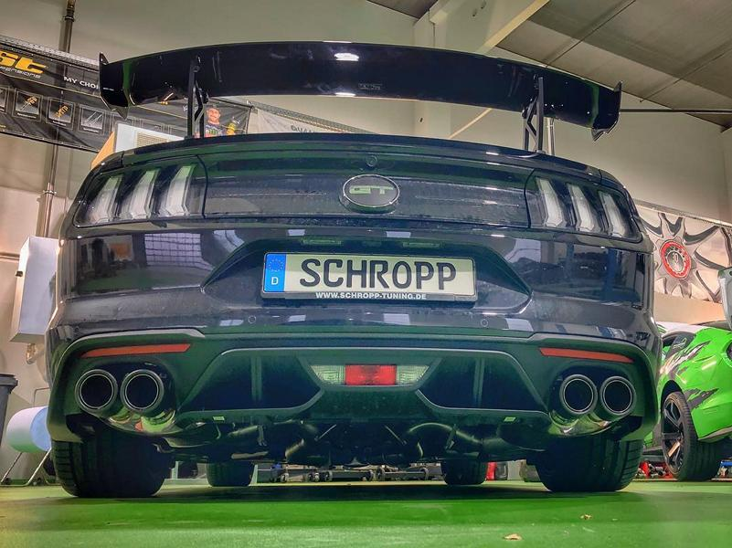 Airride Schropp Ford Mustang Facelift LAE Tuning 2019 3 500 PS & Airride im Schropp Ford Mustang Facelift (LAE)