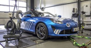 Alpine A110 DTE Chiptuning 4 310x165 Alpine A110 mit DTE Chiptuning auf 292 PS & 369 NM