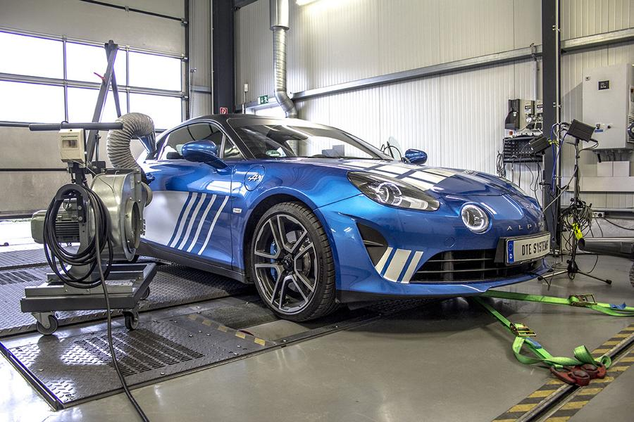 Alpine A110 DTE Chiptuning 4 Alpine A110 mit DTE Chiptuning auf 292 PS & 369 NM