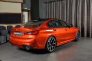 BMW 3er G20 Sunset Orange M Sport Performance Tuning 330i 04 190x127 Schick   M Performance Parts am BMW 3er 330i (G20)