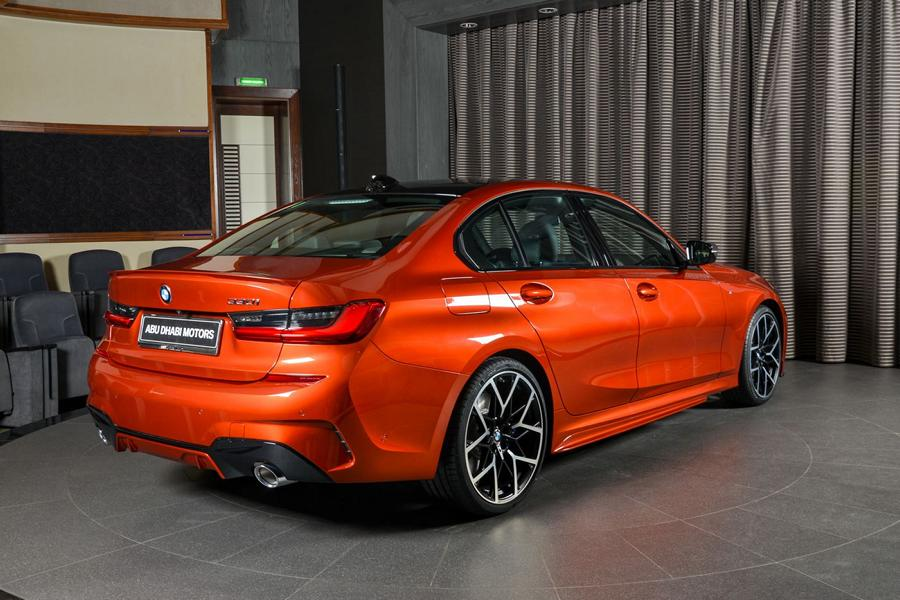 BMW 3er G20 Sunset Orange M Sport Performance Tuning 330i 04 Schick   M Performance Parts am BMW 3er 330i (G20)