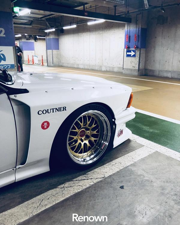 BMW E24 6er Coutner Japan CSL Widebody Kit Tuning 11 Krass: BMW E24 6er mit Coutner Japan CSL Widebody Kit