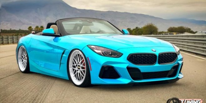 التقديم: Deep 2019 BMW Z4 (G29) on BBS LM rims