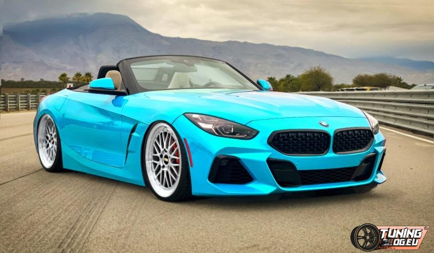 Rendering Deep 2019 Bmw Z4 G29 On Bbs Lm Rims