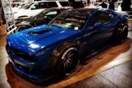 "Blue Vollcarbon Dodge Challenger %E2%80%9CS%E2%80%9D RT Hellcat EDGE Customs Tuning 3 190x127 Vollcarbon Dodge Challenger ""S"" RT Hellcat by EDGE Customs"
