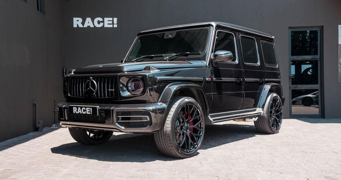 Black beauty - Brabus Mercedes-Benz G63 AMG by RACE!