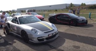 Bugatti Chiron vs. 1600 PS Porsche 911 Turbo 310x165 Video: 1500 PS Bugatti Chiron vs. 1600 PS Porsche 911 Turbo
