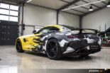 CAMO Sunflower Matt 650 PS Mercedes AMG GT R fostla Tuning 19 155x103 CAMO Sunflower Matt am 650 PS Mercedes AMG GT R