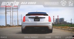Cadillac CTS V mit Borla Auspuff Tuning 310x165 Video: Evolve Automotive besucht BMW Tuner Studie AG