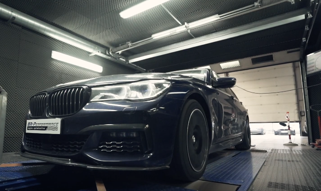Chiptuning BR Performance BMW 750i G11 G12 Stark: 550PS & 820 NM im BR Performance BMW 750i