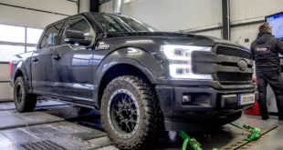DTE Chiptuning 435 PS 741 NM Ford F 150 Ecoboost 5 310x165 338 PS & 465 NM im DTE Systems Mercedes A35 AMG