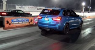 Dodge Scat Pack Challenger vs. Dinan BMW X5 M 310x165 Video: Dodge Scat Pack Challenger vs. Dinan BMW X5 M