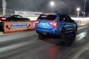 Dodge Scat Pack Challenger vs. Dinan BMW X5 M 310x205 Video: Dodge Scat Pack Challenger vs. Dinan BMW X5 M