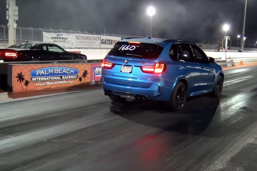 Dodge Scat Pack Challenger vs. Dinan BMW X5 M Video: Dodge Scat Pack Challenger vs. Dinan BMW X5 M