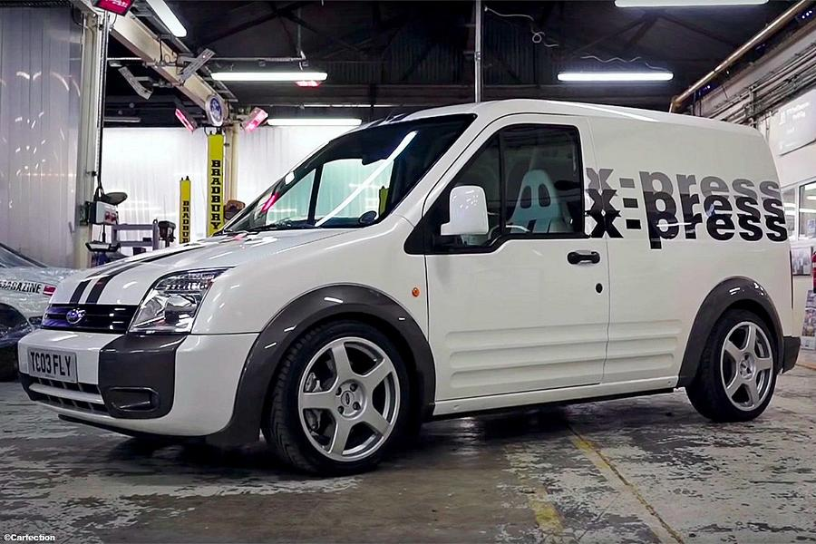 Ford Tourneo Connect RS Tuning 1 Video: Schneller Paketbote   215 PS Ford Tourneo Connect