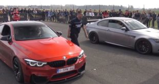 G Power BMW M3 F80 vs. Pure Turbos BMW M3 E92 310x165 Video: 780 PS Mercedes C63 AMG vs. VW Golf MK2 & co.