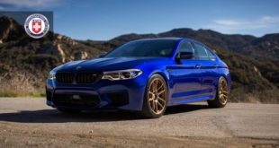 HRE RC104 Rims BMW M5 F90 San Marino Blue Tuning 1 310x165 HRE RC104 Rims on BMW M5 F90 in San Marino Blue