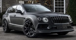 Kahn Design Bentley Centenary edition 1 310x165 Video: Evolve Automotive besucht BMW Tuner Studie AG
