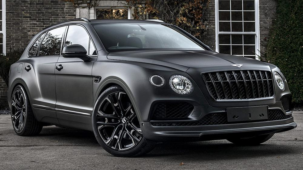 Kahn Design Bentley Centenary edition 1 23 Zöller & mattschwarz: Bentley Bentayga by Kahn Design
