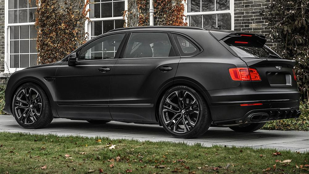Kahn Design Bentley Centenary edition 2 23 Zöller & mattschwarz: Bentley Bentayga by Kahn Design
