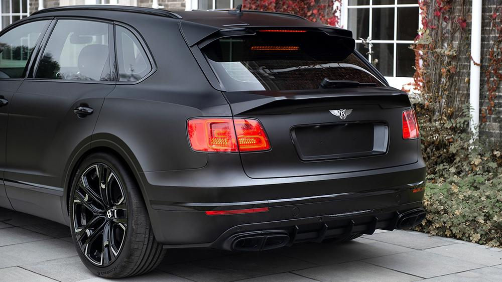 Kahn Design Bentley Centenary edition 4 23 Zöller & mattschwarz: Bentley Bentayga by Kahn Design