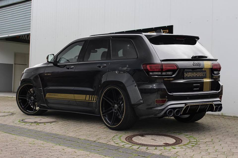 Manhart Widebody Jeep Grand Cherokee Track Hawk Tuning 1 Manhart Widebody Jeep Grand Cherokee Track Hawk