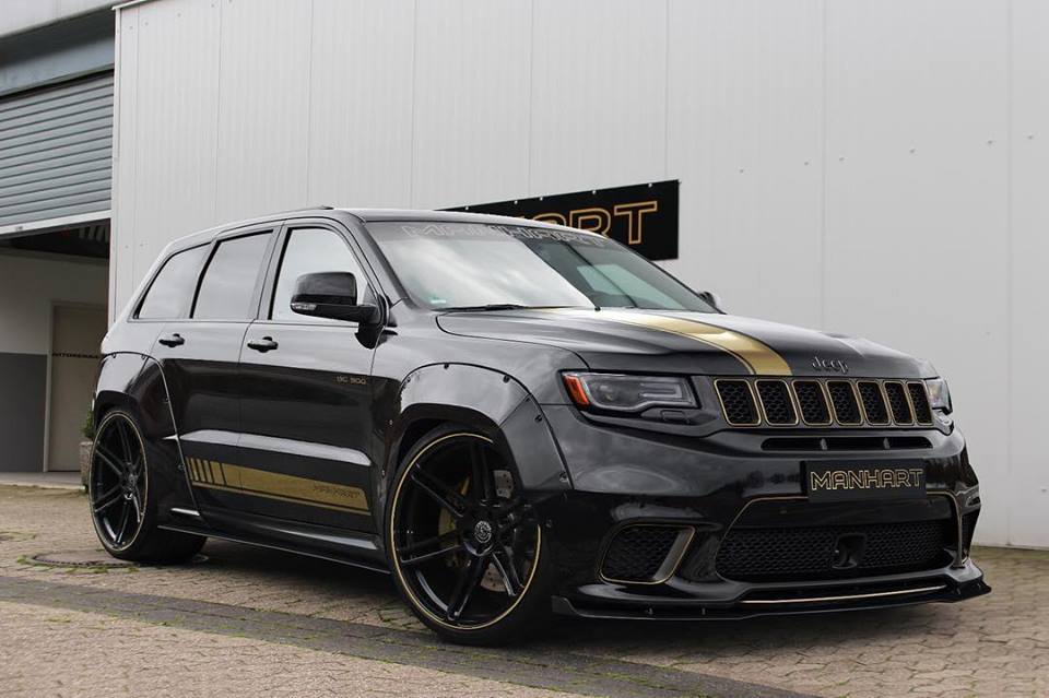 Manhart Widebody Jeep Grand Cherokee Track Hawk Tuning 2 Manhart Widebody Jeep Grand Cherokee Track Hawk
