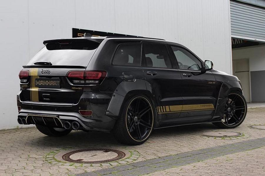 Manhart Widebody Jeep Grand Cherokee Track Hawk Tuning 3 Manhart Widebody Jeep Grand Cherokee Track Hawk