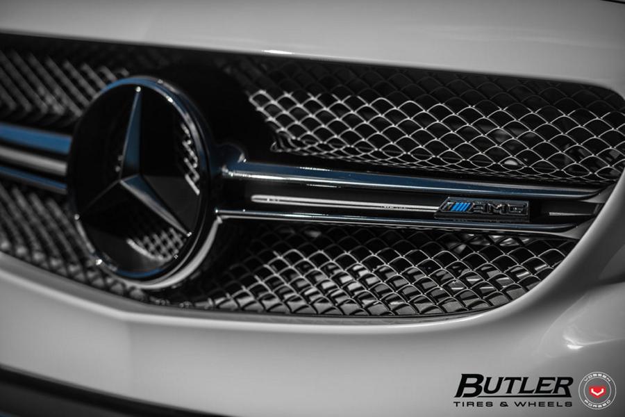 Mercedes AMG C63s Vossen M X6 Tuning 6 Perfektion Mercedes AMG C63s auf Vossen M X6 Alus