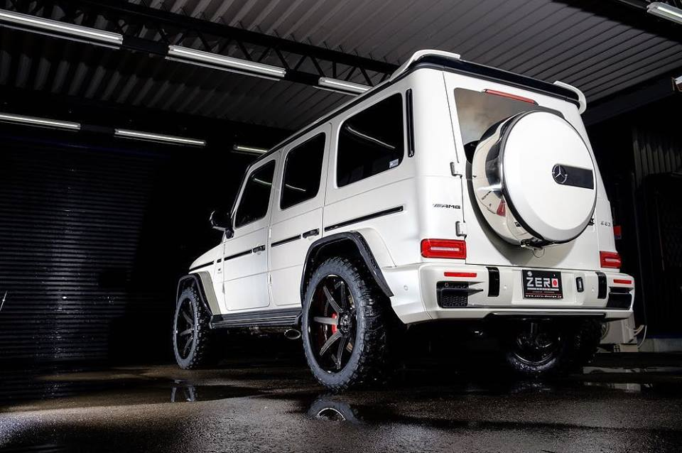 Mercedes G63 W464 Widebody Zero Design Tuning (8)