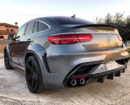 Mercedes GLE SUV Coupe C292 Tuning Widebody Kit 1 190x154 Beast Mode! Mercedes GLE Coupe (C292) mit Widebody Kit