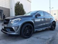 Mercedes GLE SUV Coupe C292 Tuning Widebody Kit 2 190x144 Beast Mode! Mercedes GLE Coupe (C292) mit Widebody Kit