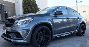 Mercedes GLE SUV Coupe C292 Tuning Widebody Kit 2 310x165 Beast Mode! Mercedes GLE Coupe (C292) mit Widebody Kit