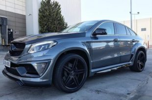 Mercedes GLE SUV Coupe C292 Tuning Widebody Kit 2 310x205 Beast Mode! Mercedes GLE Coupe (C292) mit Widebody Kit
