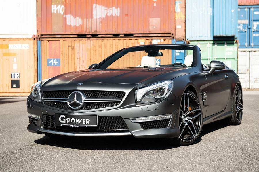 Mercedes SL63 AMG R231 G Power Tuning 6 G Power   BMW & Mercedes mit maximaler Leistung
