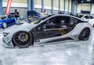 Savini Wheels Liberty Walk Widebody BMW i8 Tuning 11 190x132 Savini Wheels & Liberty Walk Widebody Kit am BMW i8